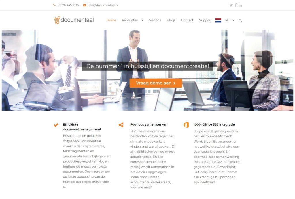 Webdevelopment voor Documentaal.nl
